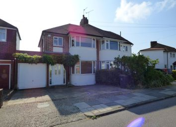 Thumbnail 3 bed semi-detached house to rent in Fairview Drive, Farnborough, Orpington
