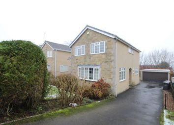 Thumbnail 4 bed detached house for sale in Sunningdale Crescent, Cullingworth, Bradford