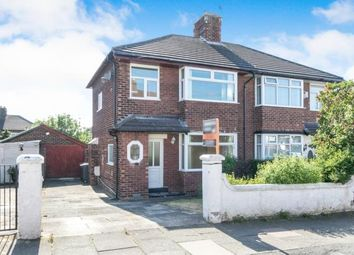 Thumbnail 3 bed semi-detached house for sale in Northwood Road, Prenton, Merseyside