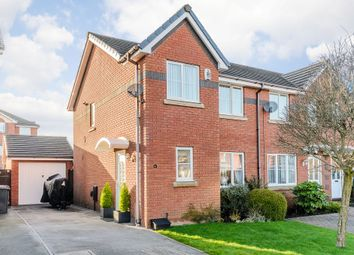 Thumbnail 3 bed semi-detached house for sale in Endeavour Close, Preston, Lancashire