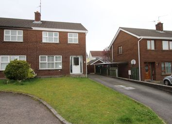 Thumbnail 3 bed semi-detached house to rent in Adlon Gardens, Lisburn