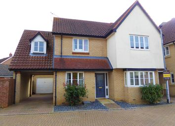 Thumbnail 4 bed link-detached house for sale in Ruskin Place, Downham Market