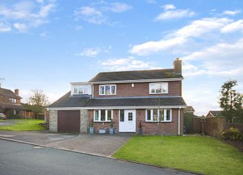 Thumbnail 4 bed detached house for sale in Gorse Crescent, Loggerheads, Market Drayton