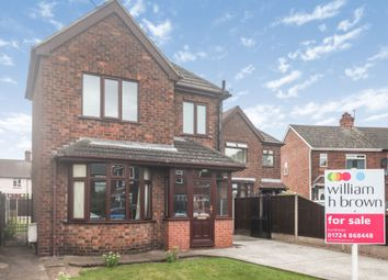 Thumbnail 3 bed detached house for sale in Haig Avenue, Scunthorpe