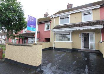Thumbnail 3 bed terraced house for sale in Tildarg Avenue, Dunmurry, Belfast
