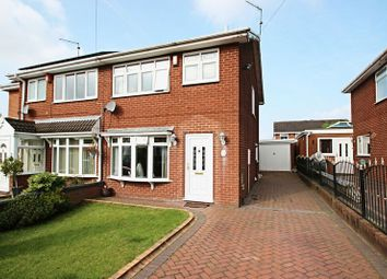 Thumbnail 3 bedroom semi-detached house for sale in Birkdale Drive, Kidsgrove, Stoke-On-Trent