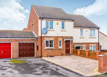 Thumbnail 3 bed semi-detached house for sale in Yews Place, Kendray, Barnsley