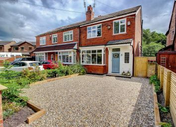 Thumbnail 3 bed semi-detached house for sale in Crossfield Grove, Stockport