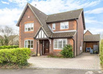 Thumbnail 4 bed detached house for sale in Hazel Close, Colden Common, Winchester
