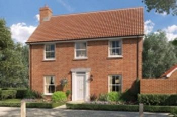 Thumbnail 4 bed detached house for sale in The, Oakley Park, Mulbarton, Norfolk