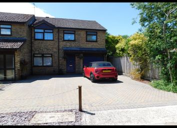 Thumbnail 4 bed end terrace house for sale in Copinger Close, Totton, Southampton