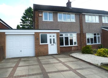 Thumbnail 3 bed semi-detached house for sale in Highcroft, Hyde