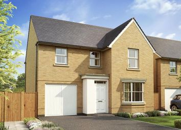 "Thumbnail 4 bed detached house for sale in ""Millford"" at West Yelland, Barnstaple"