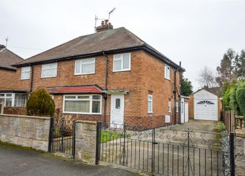 Thumbnail 3 bed semi-detached house for sale in Ramsdale Avenue, Calverton, Nottingham