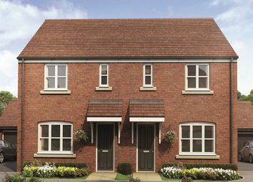 "Thumbnail 3 bed semi-detached house for sale in ""The Hanbury Special "" at Lionheart Avenue, Bishops Tachbrook, Leamington Spa"