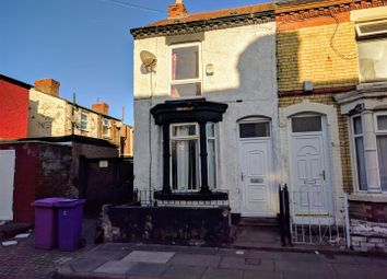Thumbnail 2 bedroom end terrace house for sale in Bligh Street, Wavertree, Liverpool
