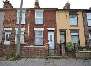 Thumbnail 3 bedroom terraced house to rent in Oxford Road, Lowestoft