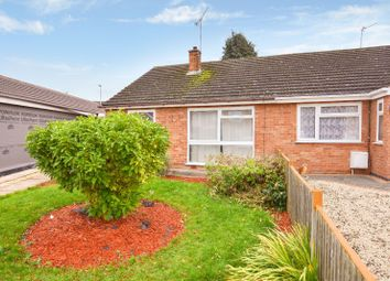 Thumbnail 2 bed bungalow to rent in Saltash Close, Wigston, Leicester