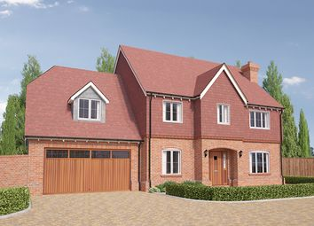 Thumbnail 5 bedroom detached house for sale in Crockford Lane, Chineham, Basingstoke, Hampshire