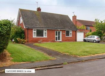 Thumbnail 4 bed detached bungalow for sale in Pinfold Lane, Bottesford, Nottingham