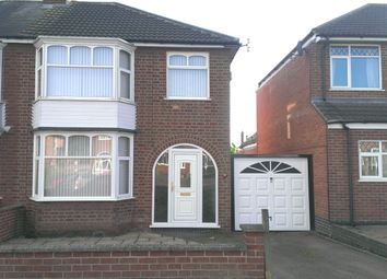 Thumbnail 3 bed semi-detached house to rent in Turnbull Drive, Leicester