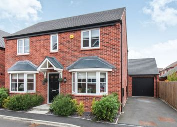 Thumbnail 4 bed detached house for sale in Kimbolton Way, Boulton Moor, Derby