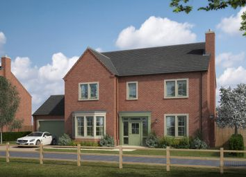 Thumbnail 4 bedroom detached house for sale in The Avenue, Medburn, Ponteland