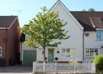 Thumbnail 4 bedroom semi-detached house for sale in Nightingale Close, Stowmarket