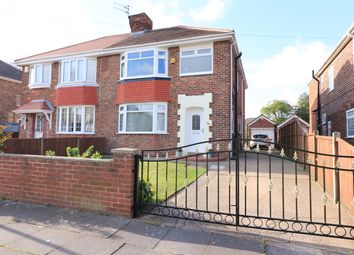Thumbnail 3 bed semi-detached house for sale in Boundary Road, Scartho, Grimsby