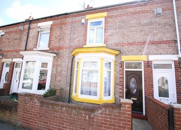 Thumbnail 2 bed terraced house for sale in Eastbourne Road, Darlington, County Durham