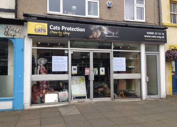Thumbnail Retail premises for sale in Madoc Street, Llandudno
