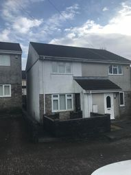 Thumbnail 2 bed semi-detached house to rent in Brunel Close, Tonna, Neath