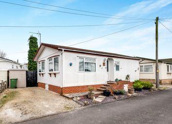 Thumbnail 2 bedroom mobile/park home for sale in Ladycroft Park, Blewbury, Didcot