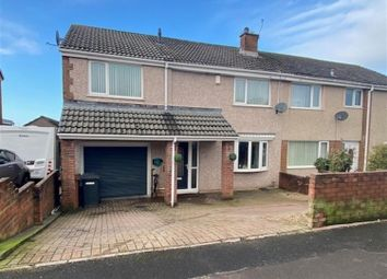 Thumbnail 4 bed semi-detached house for sale in Cross Lane, Whitehaven