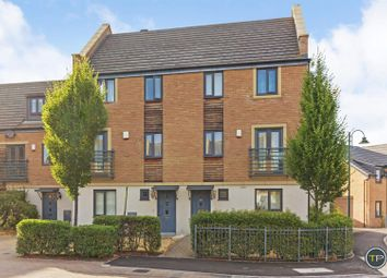 Thumbnail 3 bed town house for sale in Bayleaf Avenue, Hampton Vale, Peterborough