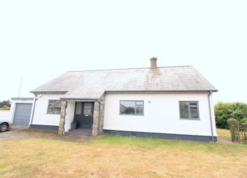 Thumbnail 4 bed detached bungalow for sale in Penrhos, Pwllheli