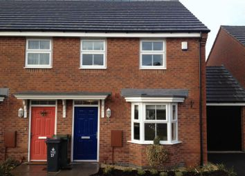 Thumbnail 3 bed terraced house to rent in Water Reed Grove, Walsall