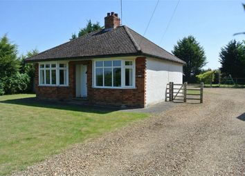 Thumbnail 2 bed detached bungalow for sale in Church Lane, Stibbington, Cambridgeshire