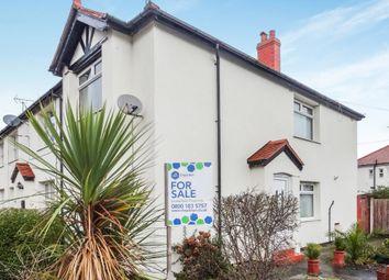 Thumbnail 3 bed end terrace house for sale in Warren Road, Rhyl, Denbighshire