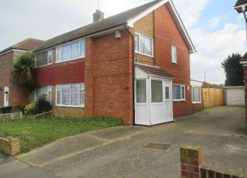 Thumbnail 3 bed semi-detached house to rent in Latona Drive, Riverview Park, Gravesend
