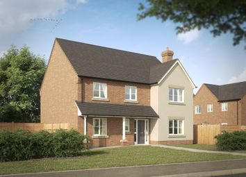 Thumbnail 4 bed detached house for sale in Linton Heath, Linton, Swadlincote