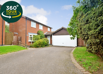 Thumbnail 4 bed detached house for sale in Bridgewater Drive, Great Glen, Leicester