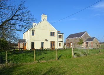 Thumbnail 4 bedroom detached house for sale in Burry Green, Gower, Swansea, West Glamorgan.