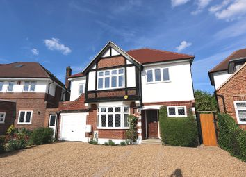 Thumbnail 6 bed detached house to rent in Manor Drive, Hinchley Wood