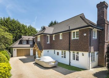 Thumbnail 7 bed detached house to rent in Claremont Drive, Esher