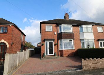 Thumbnail 3 bedroom semi-detached house for sale in Gordon Crescent, Sneyd Green, Stoke-On-Trent