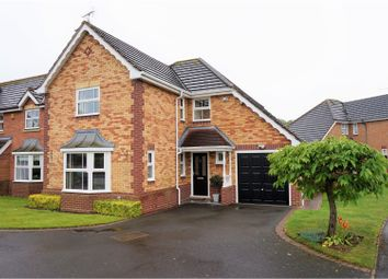 Thumbnail 4 bed detached house for sale in Cole Drive, Stafford