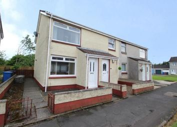 Thumbnail 2 bed flat for sale in Edzell Row, Kilwinning, North Ayrshire