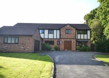 Thumbnail 6 bed detached house to rent in Sherbrook Rise, Wilmslow