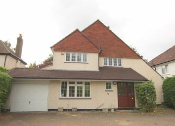 Thumbnail 4 bed detached house to rent in Fir Tree Road, Banstead